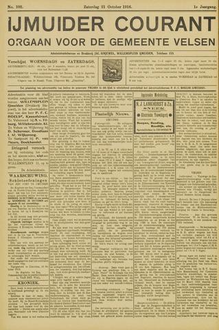 IJmuider Courant 1916-10-21