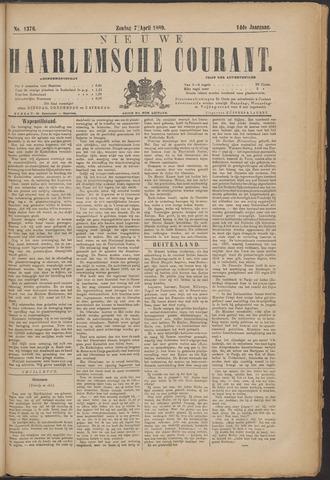 Nieuwe Haarlemsche Courant 1889-04-07