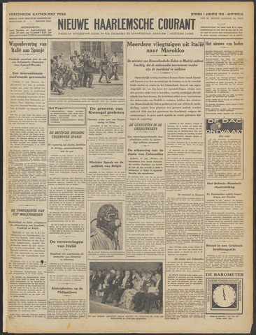 Nieuwe Haarlemsche Courant 1936-08-01