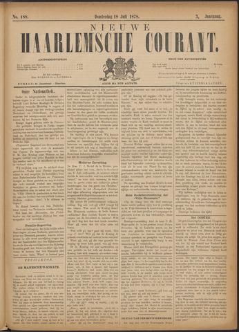 Nieuwe Haarlemsche Courant 1878-07-18