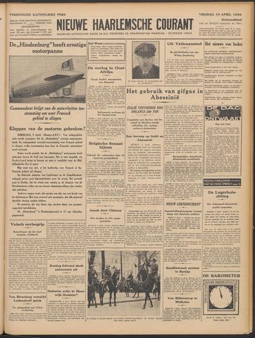 Nieuwe Haarlemsche Courant 1936-04-10