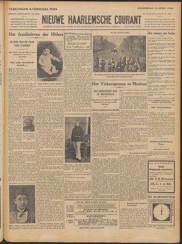 Nieuwe Haarlemsche Courant 1933-04-13