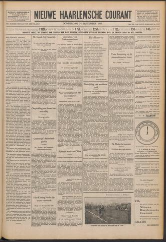 Nieuwe Haarlemsche Courant 1931-09-24