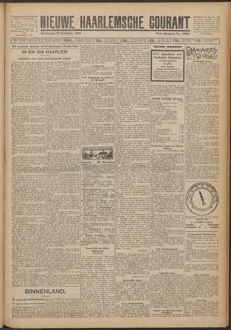 Nieuwe Haarlemsche Courant 1924-11-27
