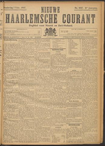 Nieuwe Haarlemsche Courant 1907-02-07