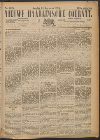 Nieuwe Haarlemsche Courant 1895-08-25