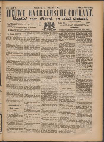 Nieuwe Haarlemsche Courant 1904-01-09