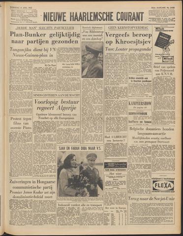 Nieuwe Haarlemsche Courant 1962-04-11