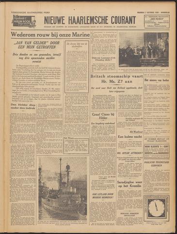 Nieuwe Haarlemsche Courant 1939-10-02