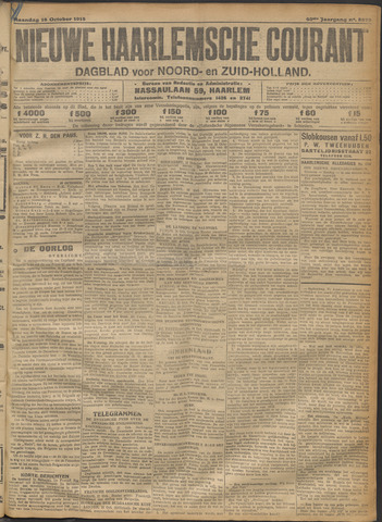 Nieuwe Haarlemsche Courant 1915-10-18