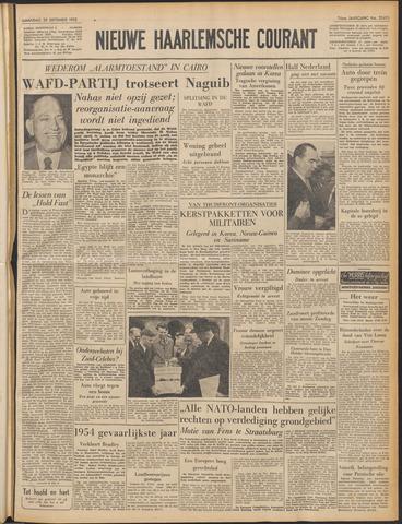 Nieuwe Haarlemsche Courant 1952-09-29