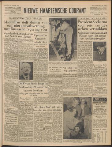 Nieuwe Haarlemsche Courant 1958-01-06