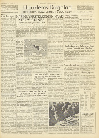 Haarlem's Dagblad 1954-11-27