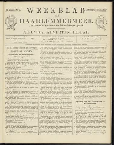 Weekblad van Haarlemmermeer 1887-09-10