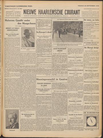 Nieuwe Haarlemsche Courant 1932-09-23