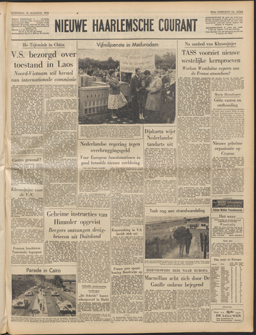Nieuwe Haarlemsche Courant 1959-08-12