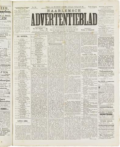 Haarlemsch Advertentieblad 1882-10-25
