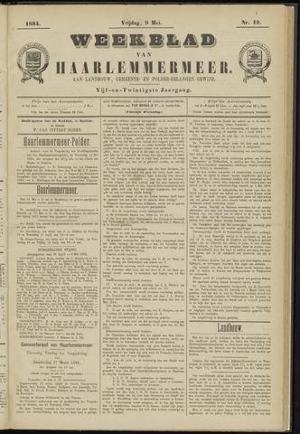 Weekblad van Haarlemmermeer 1884-05-09
