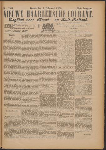 Nieuwe Haarlemsche Courant 1905-02-02
