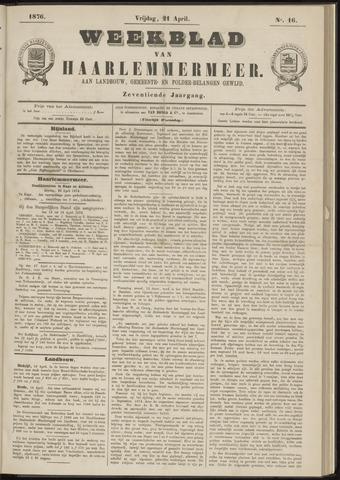 Weekblad van Haarlemmermeer 1876-04-21