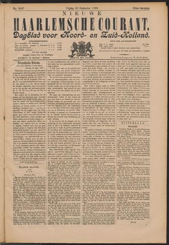 Nieuwe Haarlemsche Courant 1898-09-30