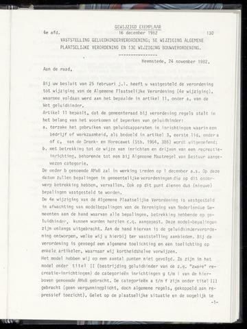 Raadsnotulen Heemstede 1982-12-16