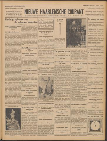 Nieuwe Haarlemsche Courant 1933-07-27