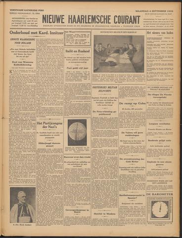 Nieuwe Haarlemsche Courant 1933-09-04