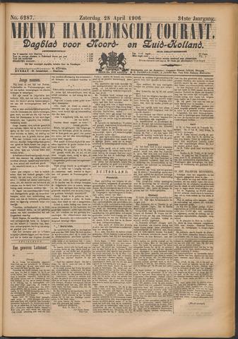 Nieuwe Haarlemsche Courant 1906-04-28