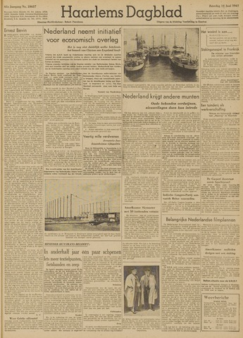 Haarlem's Dagblad 1947-06-14