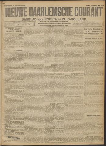 Nieuwe Haarlemsche Courant 1914-10-28