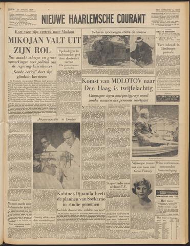 Nieuwe Haarlemsche Courant 1959-01-20