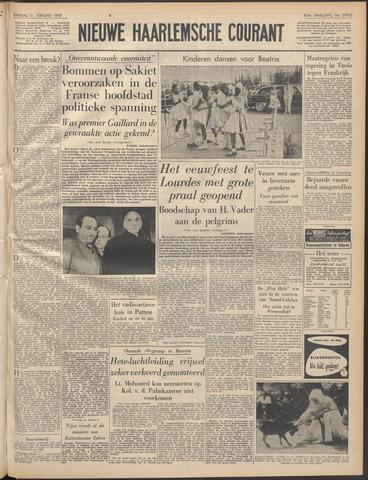 Nieuwe Haarlemsche Courant 1958-02-11