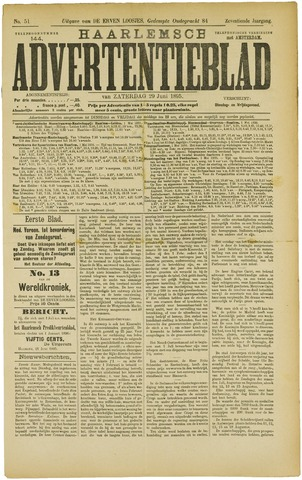 Haarlemsch Advertentieblad 1895-06-29