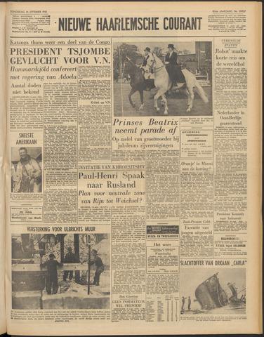 Nieuwe Haarlemsche Courant 1961-09-14