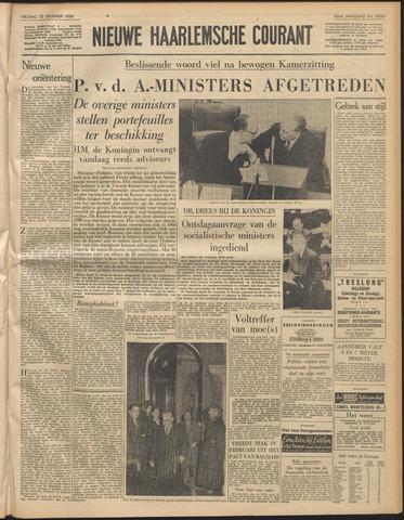 Nieuwe Haarlemsche Courant 1958-12-12