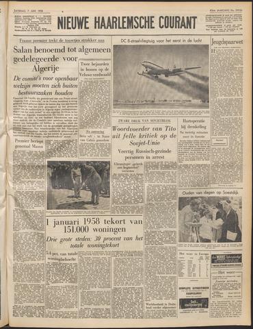 Nieuwe Haarlemsche Courant 1958-06-07