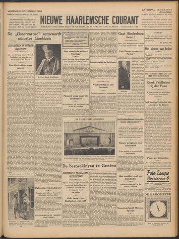 Nieuwe Haarlemsche Courant 1934-05-19