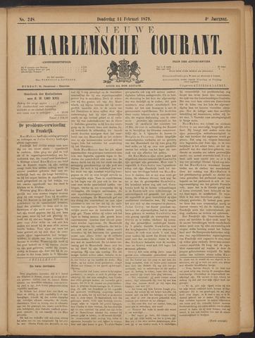 Nieuwe Haarlemsche Courant 1879-02-13