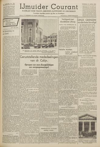 IJmuider Courant 1939-04-11