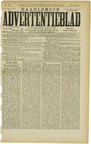 Haarlemsch Advertentieblad 1889-08-28