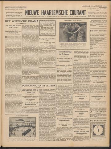 Nieuwe Haarlemsche Courant 1934-08-13