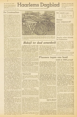 Haarlem's Dagblad 1945-12-06