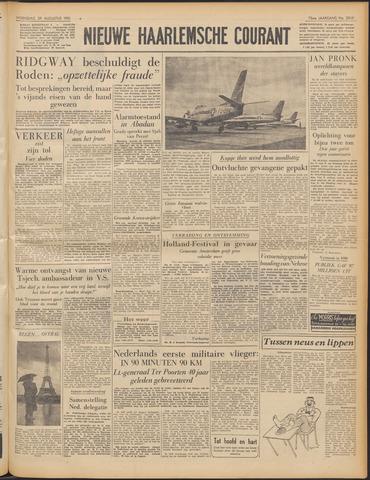 Nieuwe Haarlemsche Courant 1951-08-29