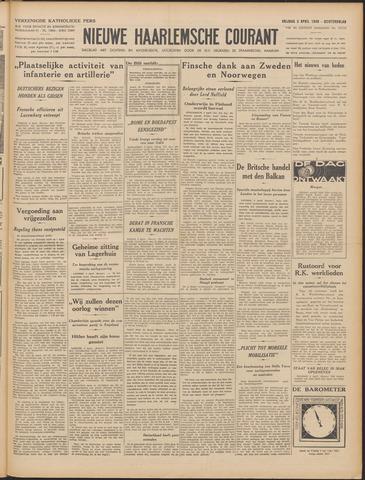 Nieuwe Haarlemsche Courant 1940-04-05