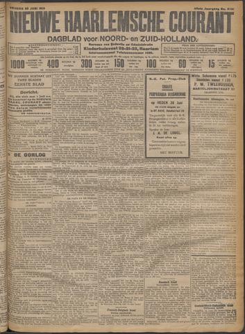 Nieuwe Haarlemsche Courant 1915-06-25