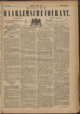 Nieuwe Haarlemsche Courant 1893-04-02