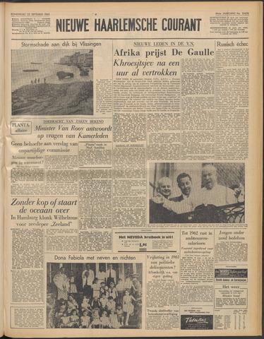 Nieuwe Haarlemsche Courant 1960-09-22