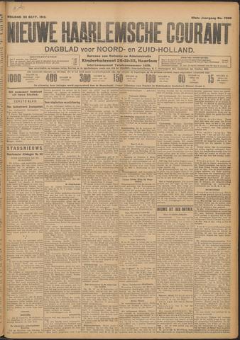 Nieuwe Haarlemsche Courant 1910-09-23