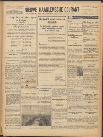 Nieuwe Haarlemsche Courant 1936-05-25